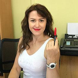 Елена, руководитель отдела продаж