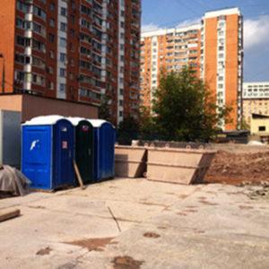Аренда туалета на стройплощадку