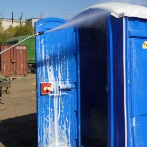Выгодное обслуживание мобильных туалетов