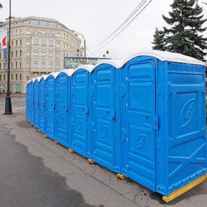 Выгодная аренда биотуалета в Москве и области