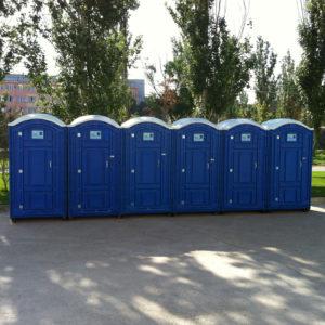 Аренда туалетных кабин с обслуживанием выгодно