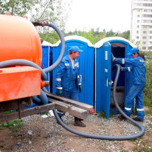 Обслуживание биотуалетов в Москве
