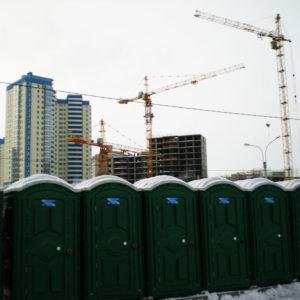Биотуалеты для строительных площадок