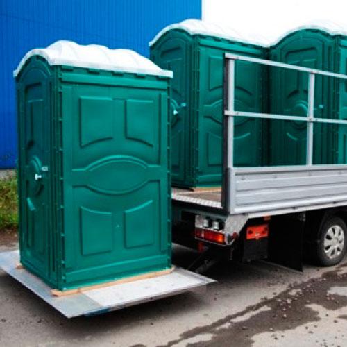 Туалетные кабины в аренду с доставкой